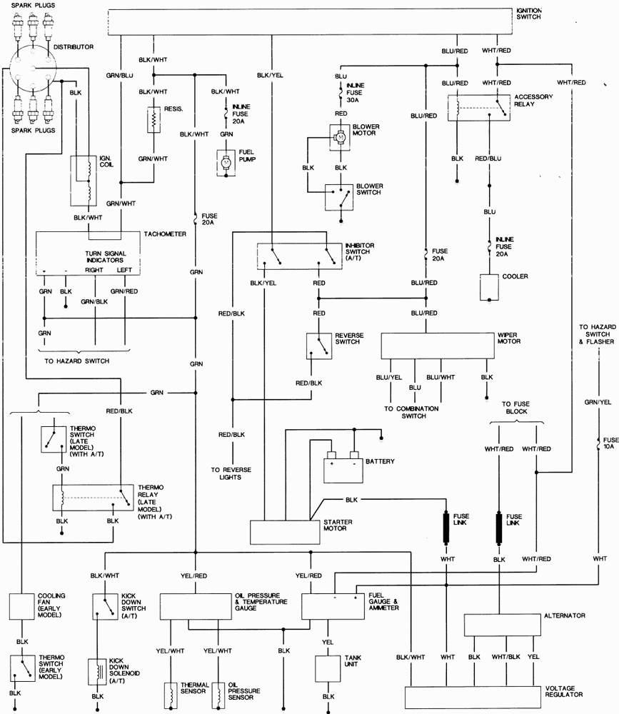 Download 1969 Corvette Wiring Diagram Temperature Gauge Wiring Diagram